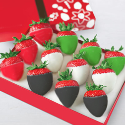 National Day Chocolate Covered Strawberries