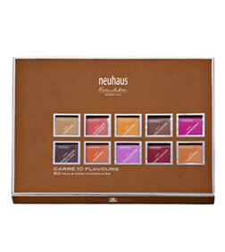 NEUHAUS CARRE 10 FLAVOURS DARK & MILK CHOCOLATE