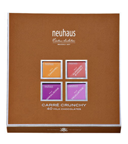 NEUHAUS CARRE CRUNCHY MILK CHOCOLATE