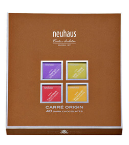 Neuhaus Carre Origin Dark Chocolate