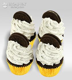 Oreo Decadence - 4 Cupcakes