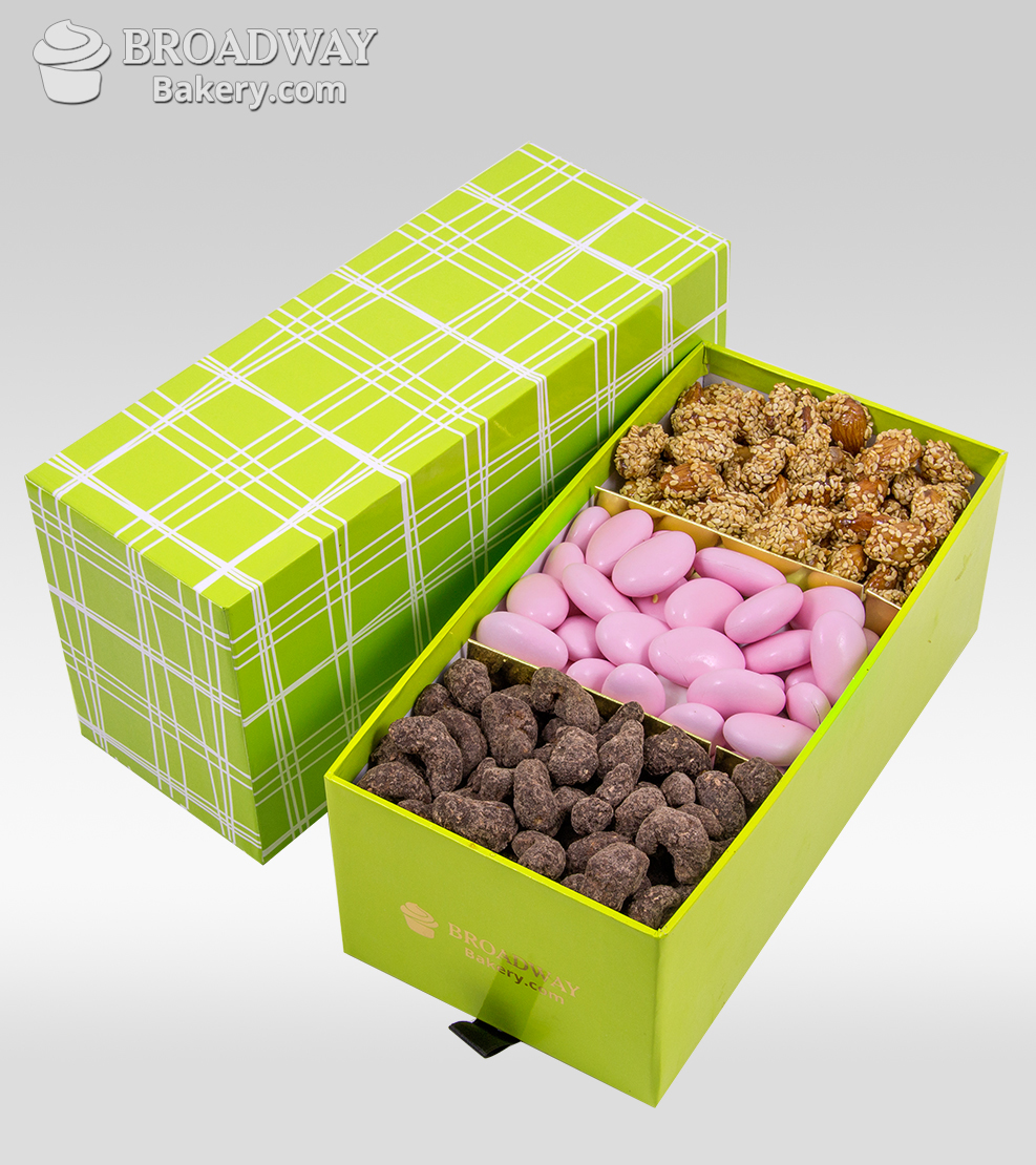 Triple Treat Nuts Gift Box