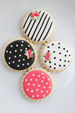 Polka Dot Party Cookies