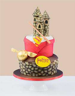 Ultimate Gryffindor Cake