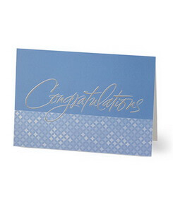 Sincere Congratulations Card