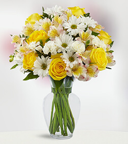 Sunlit Blooms Bouquet