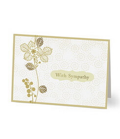 Sympathy Card (Hallmark)