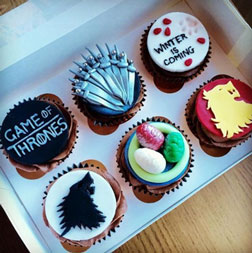 Game of Thrones Party Cupcakes