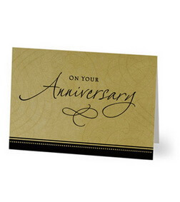 Traditional Anniversary Card (Hallmark)
