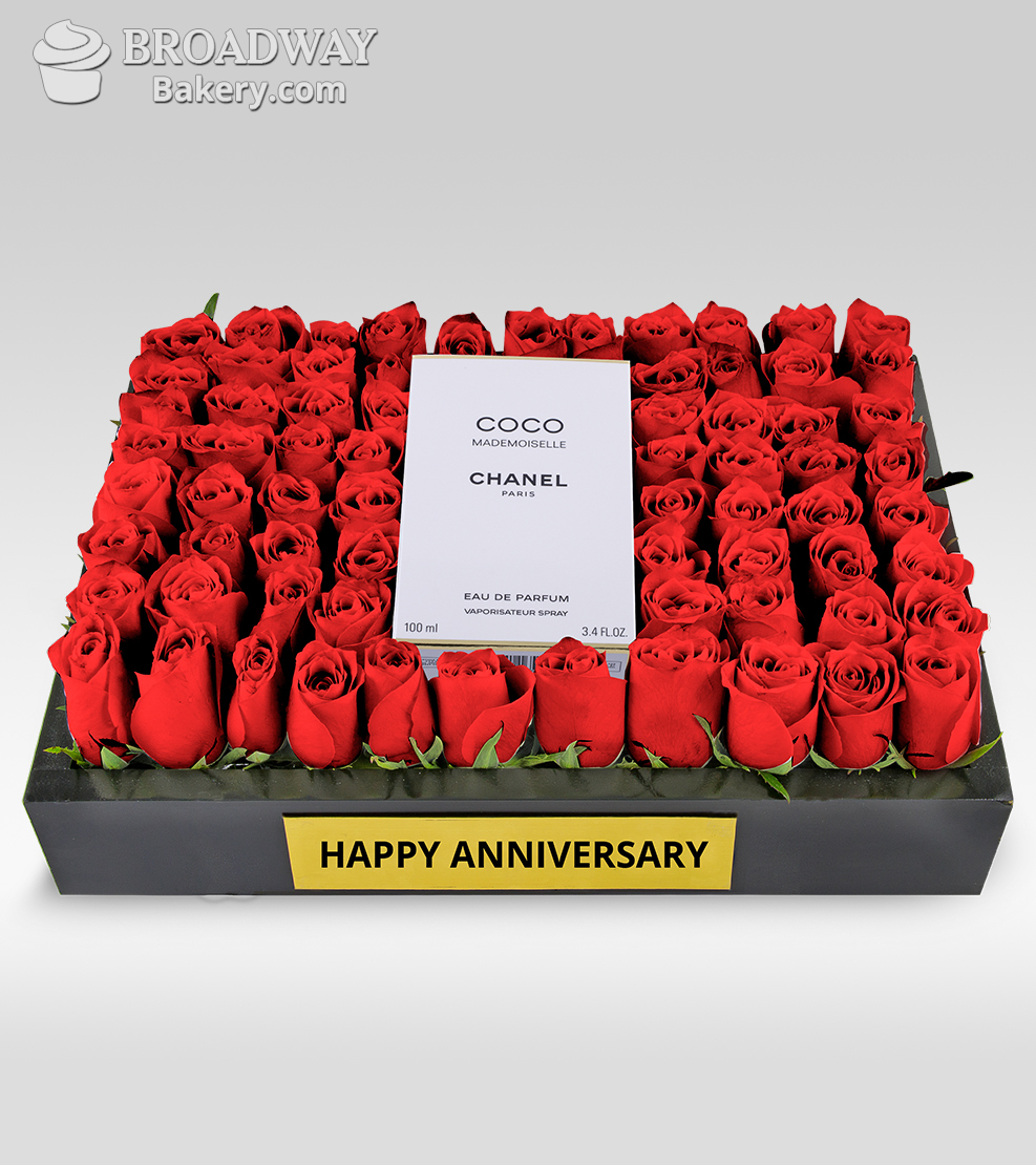 Fields of Roses with Coco Mademoiselle by Chanel