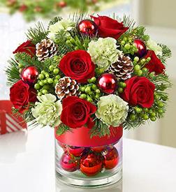 Yuletide Shimmer Bouquet