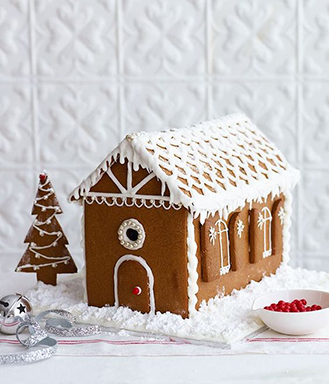 Winter Frost Gingerbread House