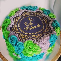 Rosette Eid Cake