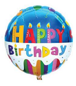Birthday Balloon VII