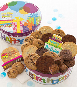 Birthday Gift Tin - Treats