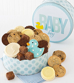 Welcome Baby  Boy Gift Box