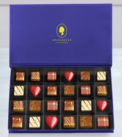 Sinfully Delicious Chocolate Box by Annabelle Chocolates