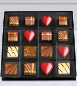 Dark Temptation Chocolate Box by Annabelle Chocolates