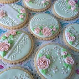 Sweet Elegance Floral Cookies