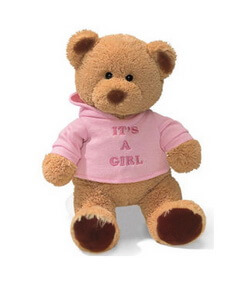 It's a girl teddy bear