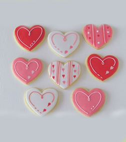 Messages of Love Cookies
