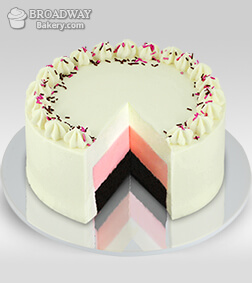Best In Town Neopolitan Cake - 1Kg
