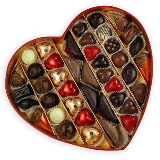 NEUHAUS VALENTINE HEART BOX N°3