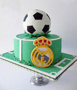 Hala Madrid! Football Cake