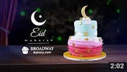 Majestic Starry Night Eid Cake