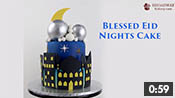 Blessed Eid Nights Cake