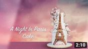 A Night In Paris Cake