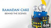 Blessed Ramadan Nights Cake