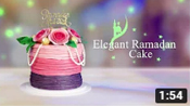 Sparkling Rose & Pearl Ramadan Cake