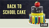 Star Students Back To School Cake