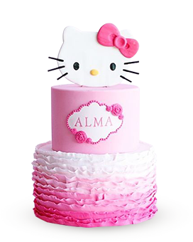 Floral Stack Hello Kitty Cake AED 107999 Shop Now