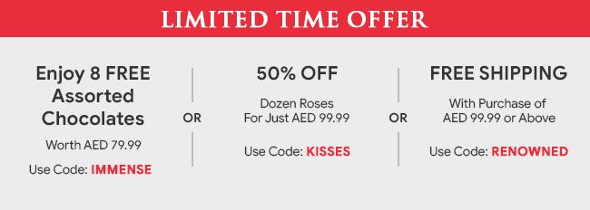 Flowers Dubai | Online Florists | Godiva | Flower Delivery Dubai | UAE