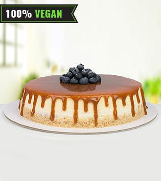 Vegan Caramel Cheesecake - 1Kg