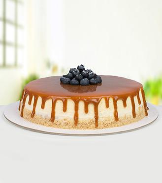 Eggless Caramel Cheesecake - 1Kg