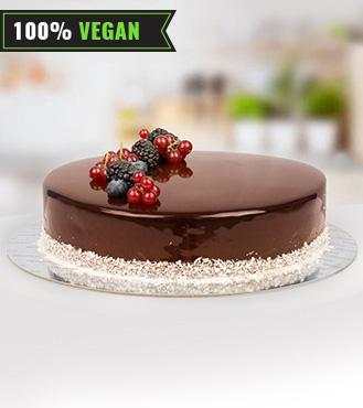 Vegan Signature Chocolate Cake - 1Kg