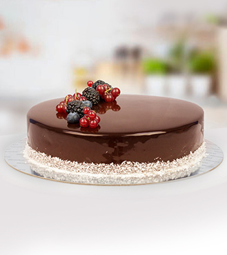 Eggless Signature Chocolate Cake - 1Kg