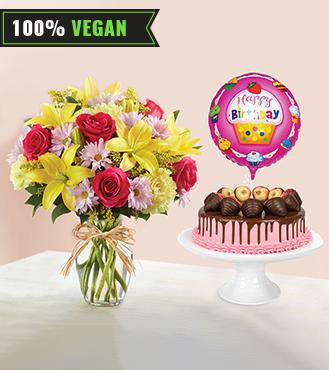 Funfilled Vegan Strawberry Cake Bundle