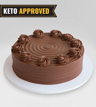 Keto 1KG Signature Chocolate Cake By Broadway Bakery. Gluten Free, Sugar Free, Low Carb Dessert...