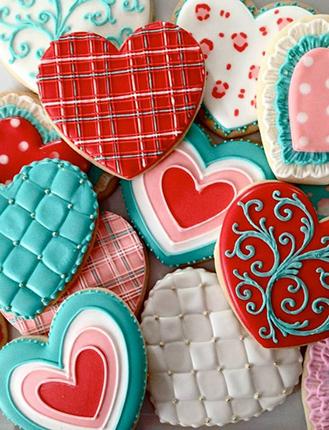 Happy Hearts Cookies