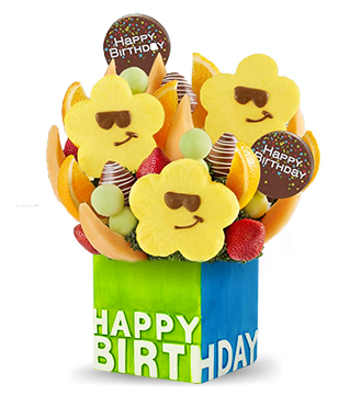 Birthday Treats Fruit Bouquet