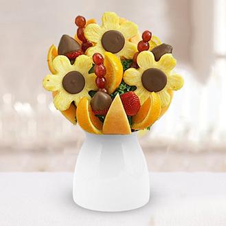 Sunflower Design Fruit Bouquet