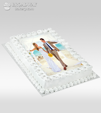Signature Chocolate Photo Cake