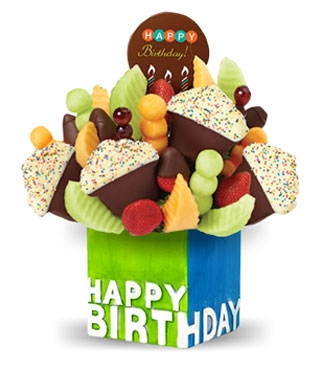 Confetti Birthday Cupcake Fruit Design Broadwaybakery 38976