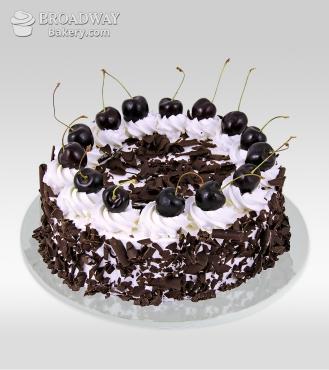 Midnight Sin Black Forest Cake - 2Kg
