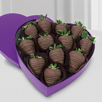 True Affection Dipped Strawberries