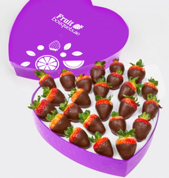 Forever Yours Dipped Strawberries